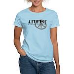Atheism Doesn't Start Wars Women's Light T-Shirt