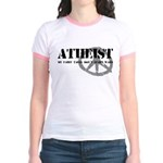 Atheism Doesn't Start Wars Jr. Ringer T-Shirt