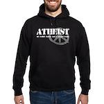 Atheism Doesn't Start Wars Hoodie (dark)