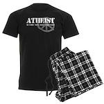 Atheism Doesn't Start Wars Men's Dark Pajamas