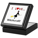 I Love Witchcraft Keepsake Box