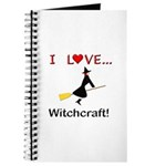 I Love Witchcraft Journal