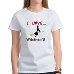 I Love Witchcraft Women's T-Shirt