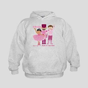 Personalize Pink Nutcracker Kids Hoodie