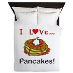 I Love Pancakes Queen Duvet
