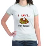 I Love Pancakes Jr. Ringer T-Shirt