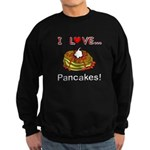 I Love Pancakes Sweatshirt (dark)