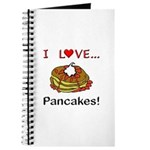 I Love Pancakes Journal