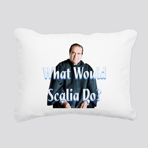 What Would Scalia Do Rectangular Canvas Pillow