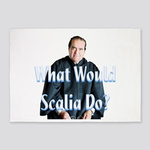 What Would Scalia Do 5'x7'Area Rug