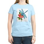 Dragonfly & Wild Rose Women's Light T-Shirt