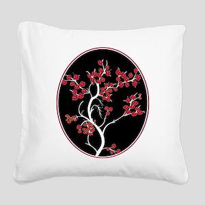 Oriental inspired blossom tree design Square Canva