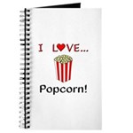 I Love Popcorn Journal