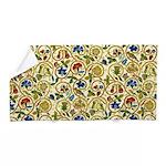 Elizabethan Swirl Embroidery Beach Towel