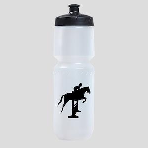 Hunter Jumper Over Fences Sports Bottle