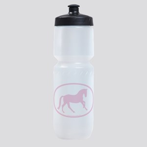canter oval pink Sports Bottle