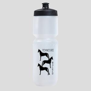 three tennessee walkers txt Sports Bottle