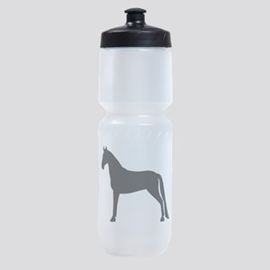 tennessee walking horse white Sports Bottle