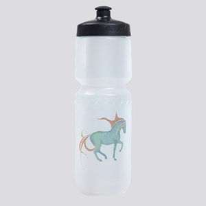mosaic horse Sports Bottle