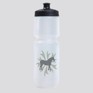 tribal sage draft.png Sports Bottle