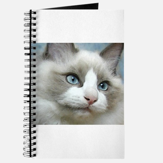Cute Ragdoll cats Journal