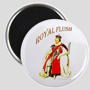 """Royal Flush 2.25"""" Magnet (10 pack)"""