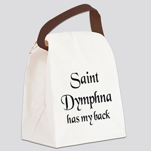saint dymphna Canvas Lunch Bag