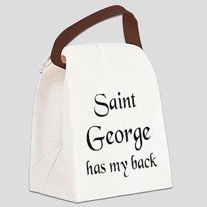 saint george Canvas Lunch Bag