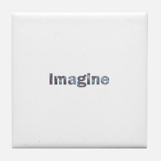 Imagine Marble Tile Coaster