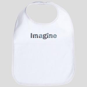 Imagine Marble Bib