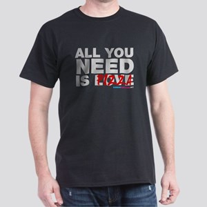 All You Need Is Pizza Dark T-Shirt