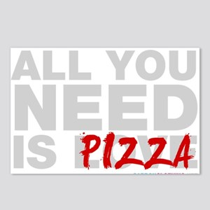 All You Need Is Pizza Postcards (Package of 8)