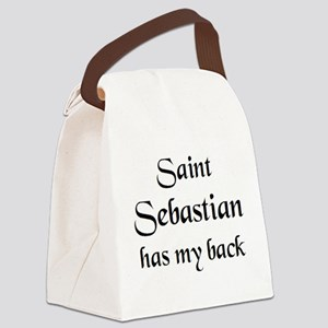 saint sebastian Canvas Lunch Bag