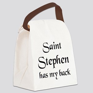saint stephen Canvas Lunch Bag