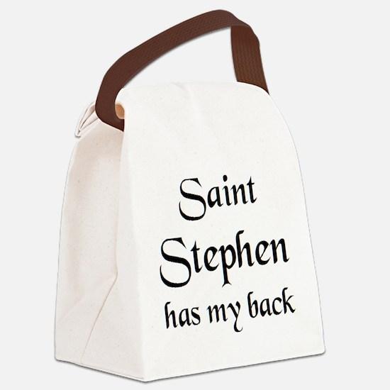 saint stephen Canvas Lunch Bag