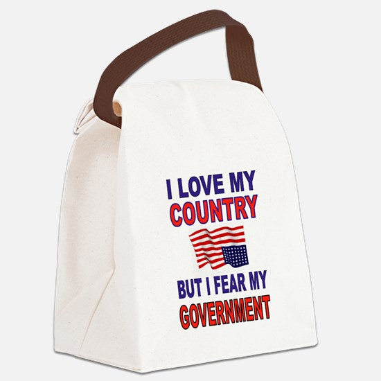 SAVE AMERICA Canvas Lunch Bag
