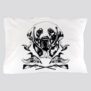 Duck Hunter Labrador 2 Pillow Case