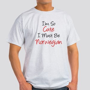 So Cute Norwegian T-Shirt