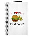 I Love Fast Food Journal