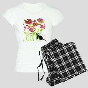 Cat and Butterflies Pajamas