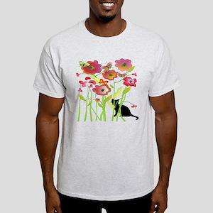 Cat and Butterflies T-Shirt