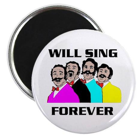 SINGING QUARTET Magnet