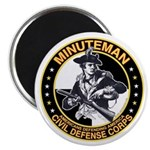 Minuteman Civil Defense Corps Magnet