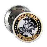 Minuteman Civil Defense Corps Button