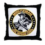 Minuteman Civil Defense Corps Throw Pillow