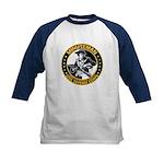 Minuteman Civil Defense Corps Kids Baseball Jersey