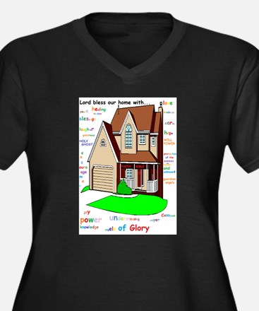 Lord bless our home Plus Size T-Shirt