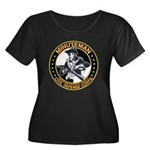 Minuteman Civil Defense Corps Women's Plus Size Sc