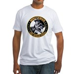Minuteman Civil Defense Corps Fitted T-Shirt