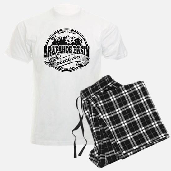 A-Basin Old Circle Black Pajamas